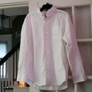 Southern Tide White Button Down Dress Shirt L